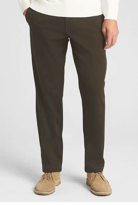 Gap Cardholders 50% + 25% Off Select Items: Men's Soft Wear Khakis Straight Fit w/GapFlex $11.25 & More + Free S/H $50+ (pre coupon code)