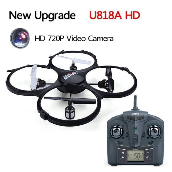 UDI U818A RC Quadcopter w/ HD 720p Camera $33.85 + Free Shipping