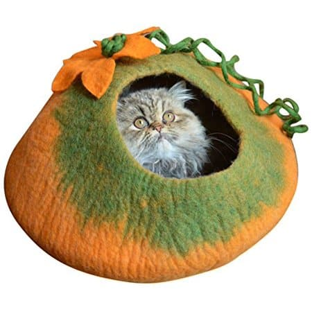 Save 34% on Earthtone Solutions Felted Wool Cat Cave Beds from Walmart.com $35.99