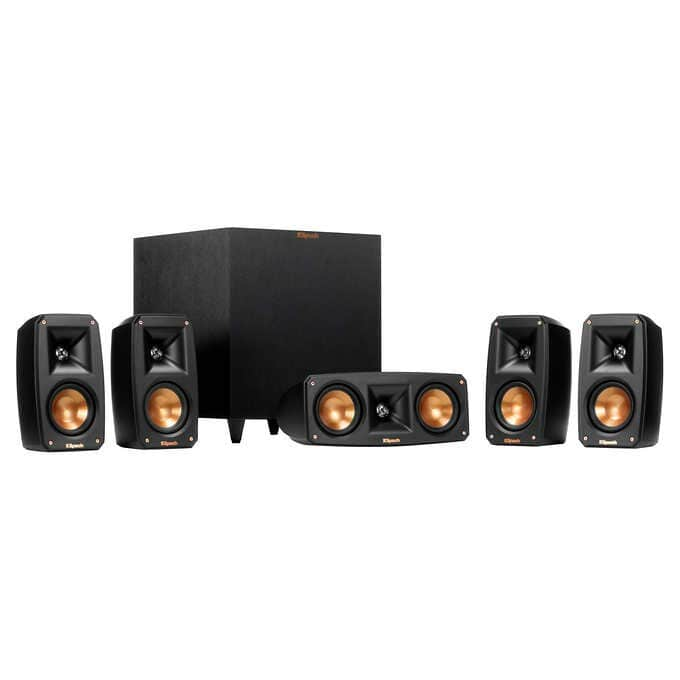 Klipsch Reference Theater Pack 5.1 Channel Surround Sound System - $369.99 $369.98