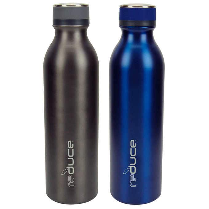 Live again until 8/2 - Reduce COLD-1 Stainless Steel 28oz Water Bottle, 2-pack @Costco $9.99