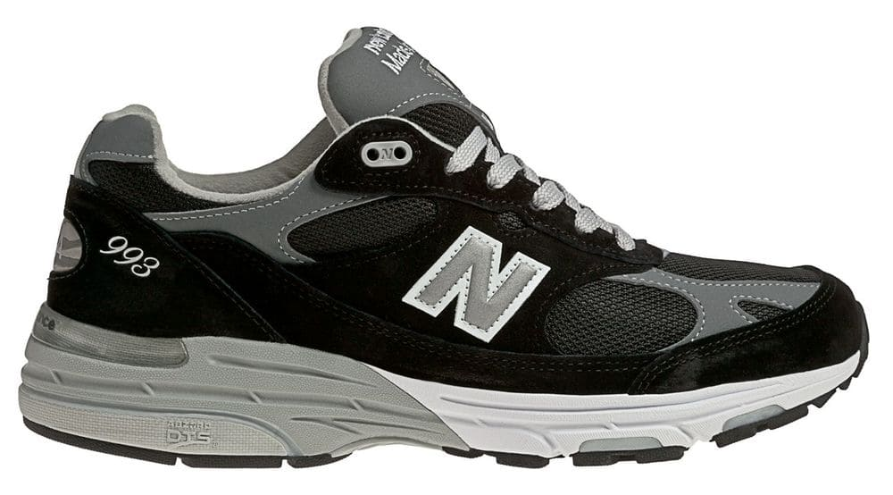 finest selection 77814 520c1 New Balance Men's Classic 993 Running Shoes Black with Grey ...