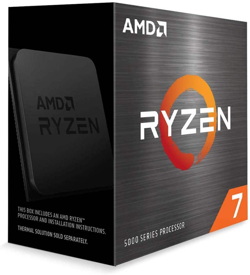 AMD Ryzen 7 5800X 8-core, 16-Thread Unlocked Desktop Processor $449.99