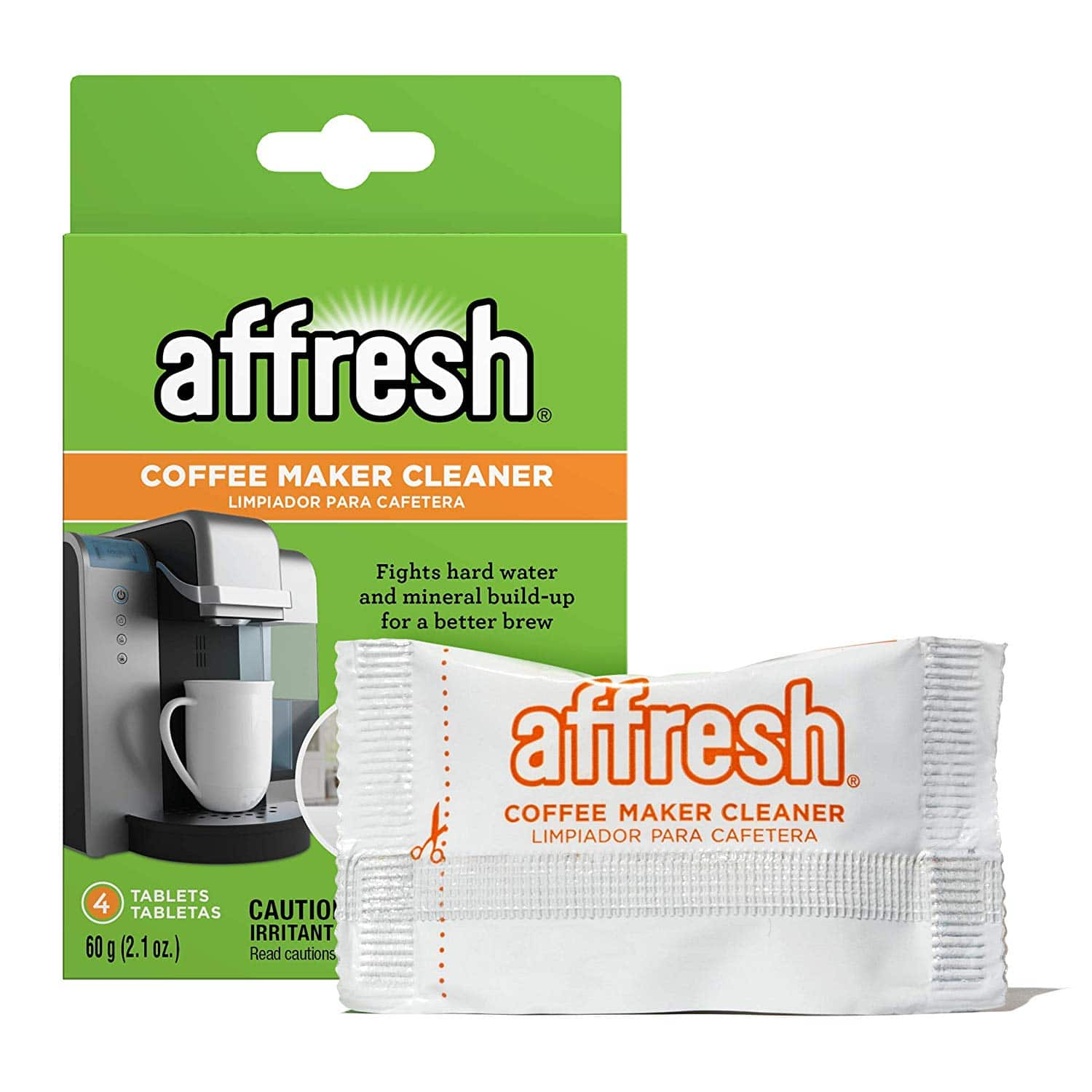 Affresh Coffeemaker Cleaner - 4 Tablets Add-On Item $4.99