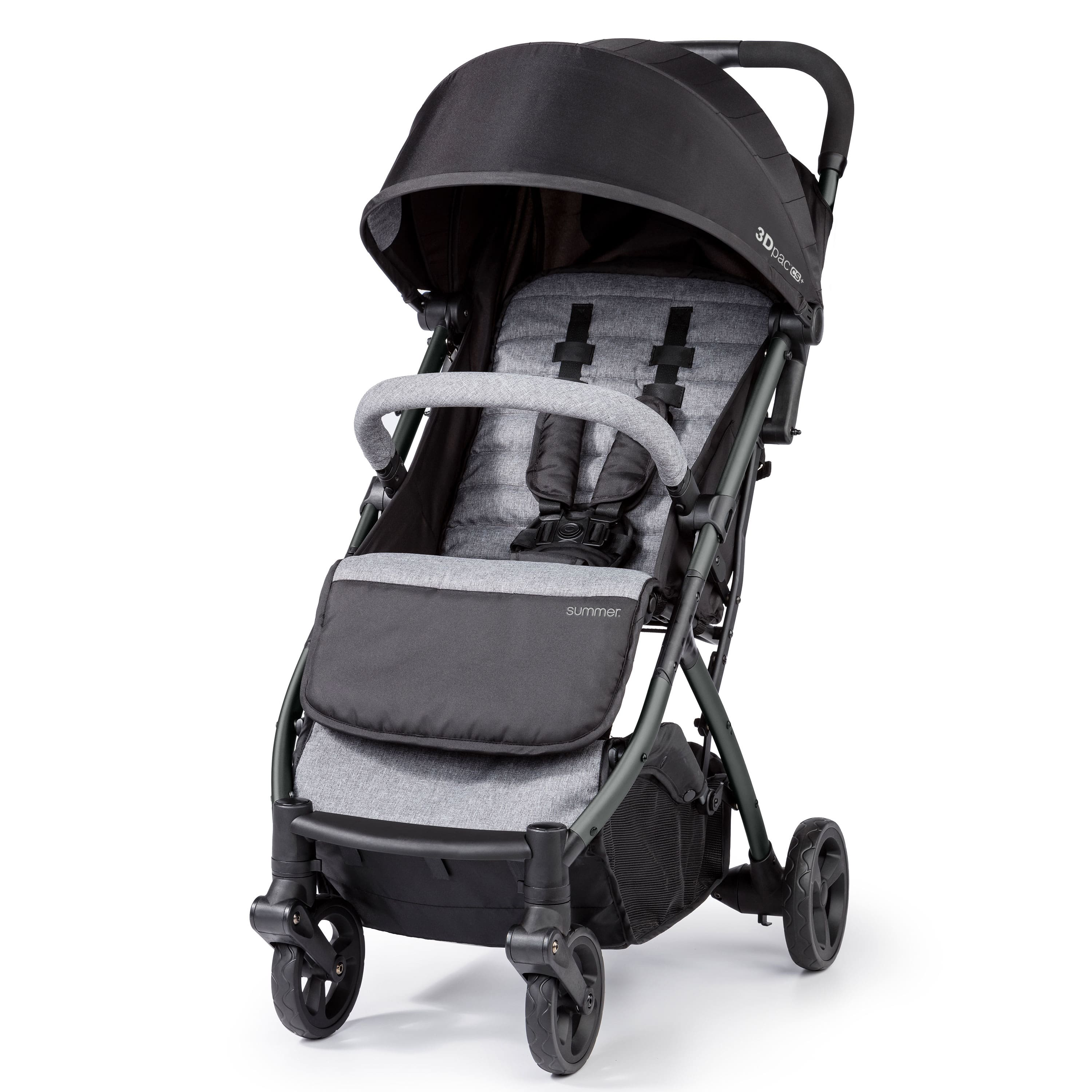 Summer Infant 3Dpac CS+ Compact Foldable Stroller w/ Extra-Large Canopy (Black) $77.10 + Free Shipping