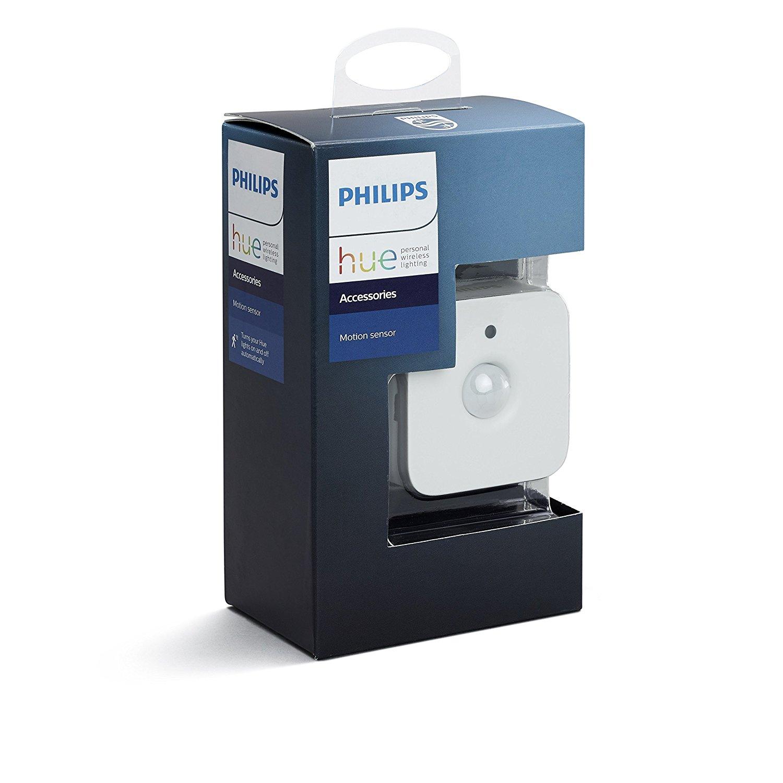 Philips 473389 Hue Motion Sensor Smart (Installation-Free, Exclusive Lights), White $33.99