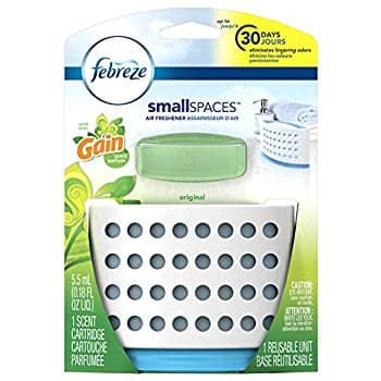 Febreze Air Freshener, Small Spaces Air Freshener, with Gain Original Starter Kit Air Freshener 5.5 mL (Pack of 8) - $7.92 @ Amazon, Add-On Item