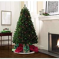 Kmart Deal: Trim A Home® 6.5' Van Buren Pine Christmas Tree with 500 Multi-Colored Lights now only $33 at KMART