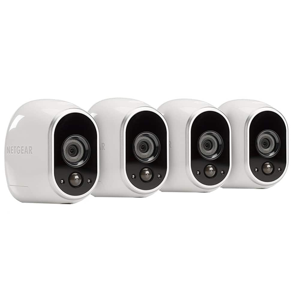 Arlo camera - 4 camera system Refurbished - Microcenter - $229.99