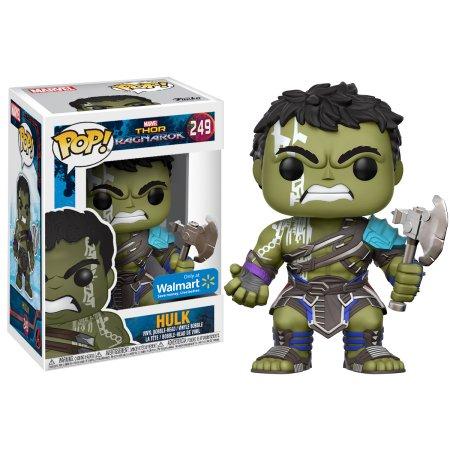 Hulk - Thor Ragnarok Funko Pop at Walmart - $4 + FPU