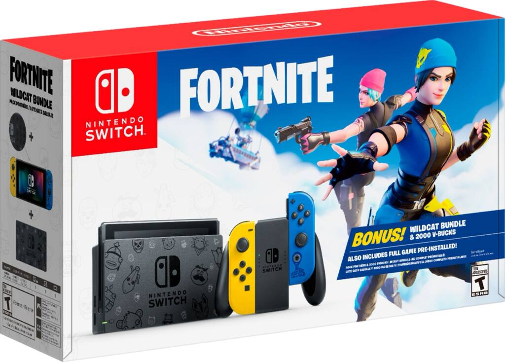 Nintendo Switch™ Fortnite Wildcat Bundle $299.99 b&m only! - $299.99