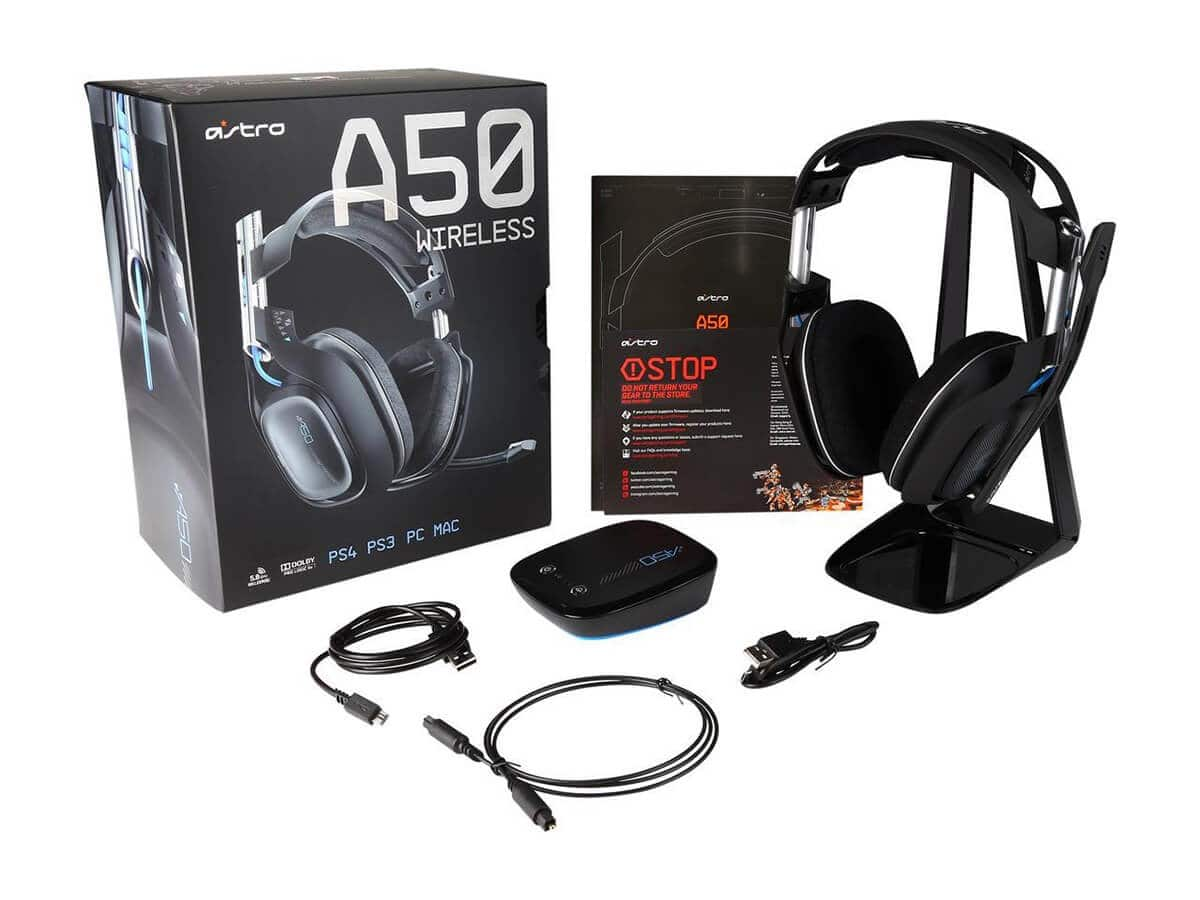 Astro A50 Wireless Headset (PS4) (Refurbished) $169 99 - Slickdeals net