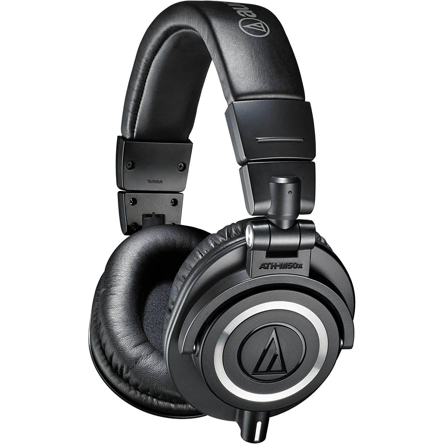 Audio-Technica ATH-M50x Professional Monitor Headphones, Black [ATH-M50x Black] - $119