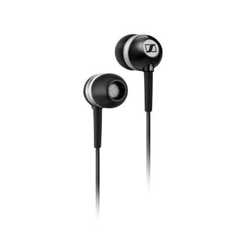 Sennheiser CX 300 II Precision Enhanced Bass Earbuds, Black - $18.16