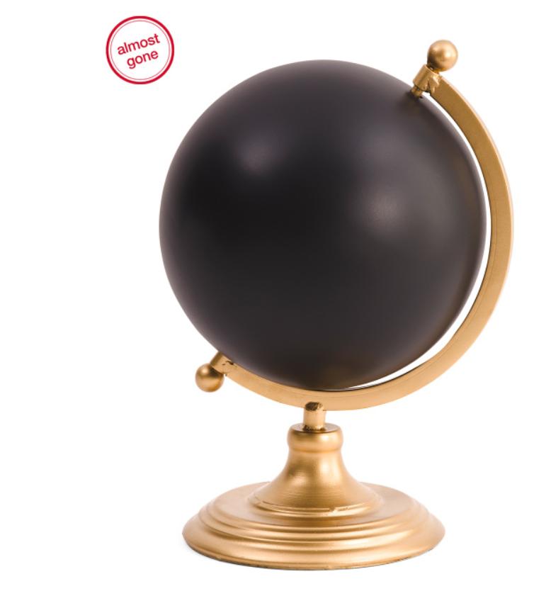 Chalkboard Globe for $15.00 @ tjmaxx