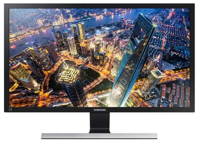 "Samsung 28"" 4K LED-backlit Monitor (Factory Reconditioned) $300 @ woot"