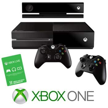 XBOX One Costco Bundle Back in Stock (Xbox One Standard, Extra Controller, 1 Yr XB-Live, Headset) $599.99