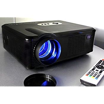 Portable Video Projector Full HD Home Theater Cinema Projectors for $144 @ Amazon