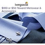 $50 Charles Tyrwhitt Menswear & Accessories Voucher  $21.25
