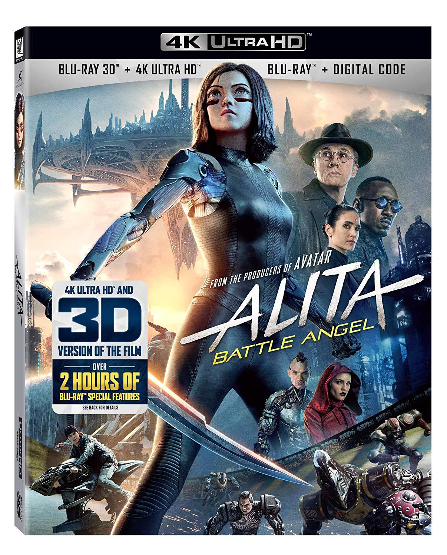 Alita: Battle Angel 4K + 3D on Sale on Amazon $29 99 with