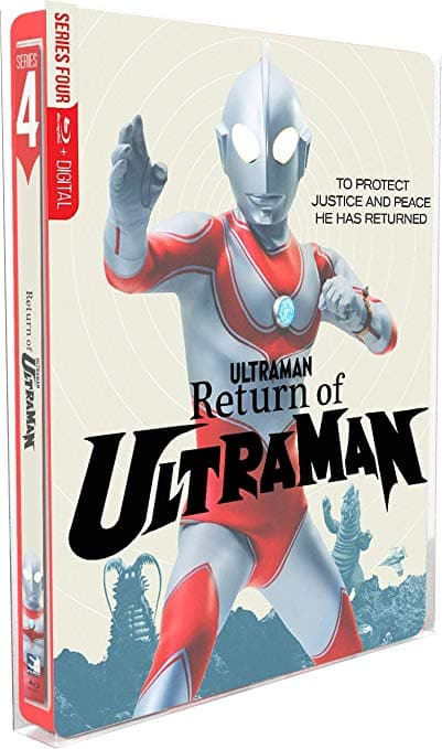 The Return of Ultraman - The Complete Series - SteelBook Edition $33.49 on Blu-ray Amazon w/Free Shipping
