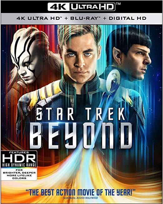 Star Trek Beyond 4K Amazon Lightning Deal $14;29 FS/Prime