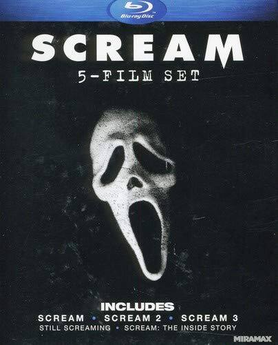 Scream: Five-Film Set Blu-ray $10.95 on Amazon.  Free Shipping with Prime or $25.