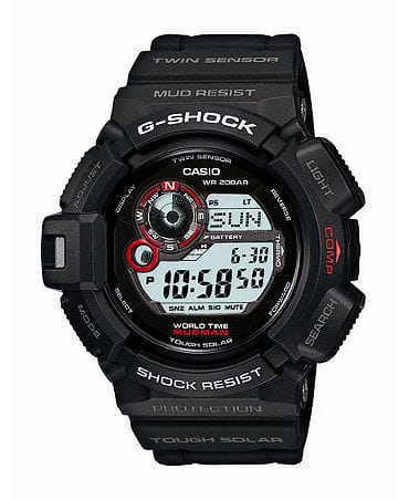 Casio G-Shock G9300-1 Mudman Solar Watch $150+Tax @ Macy's