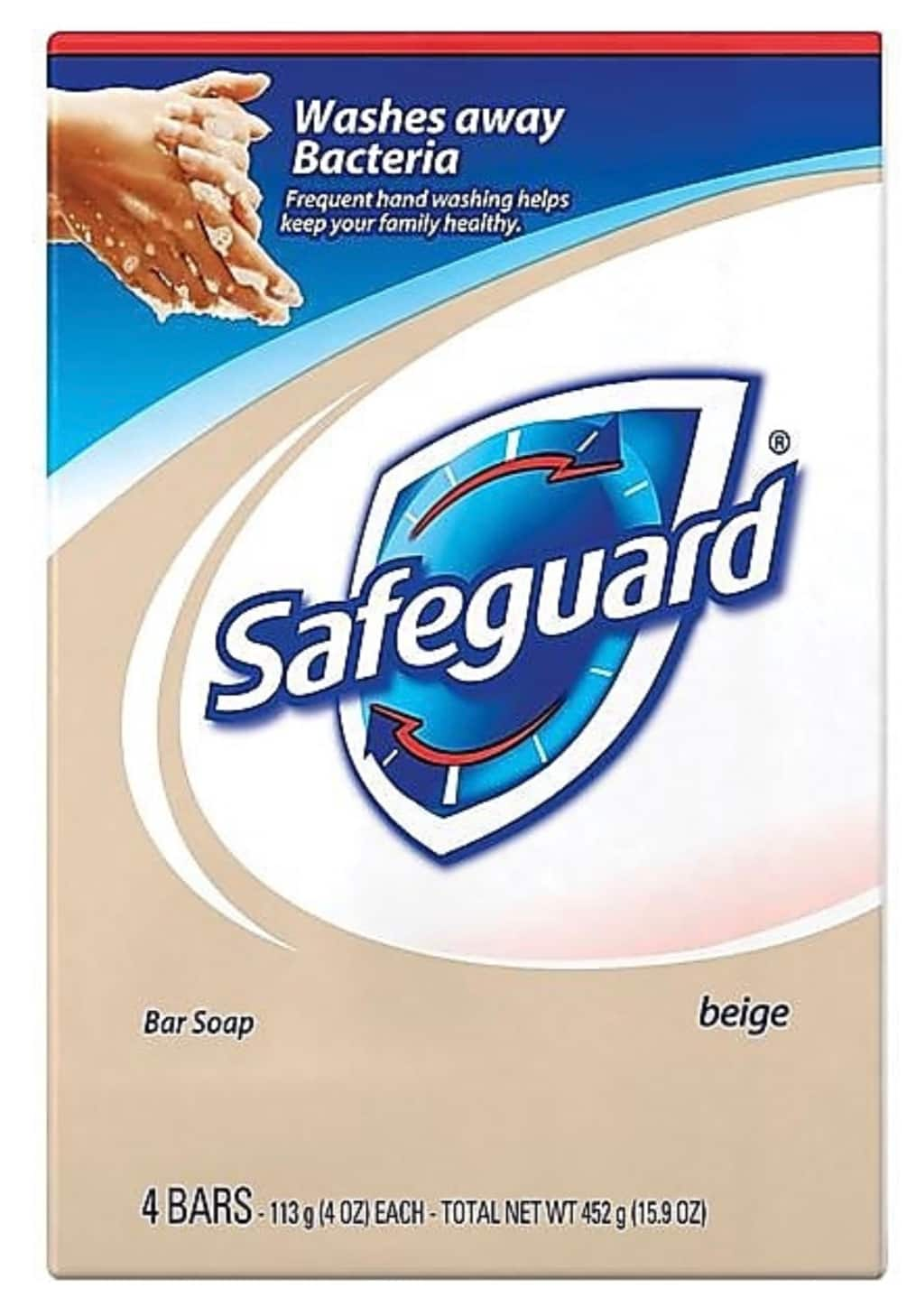 Safeguard soap $16.79 - 48 full sized antibacterial bars Free Shipping