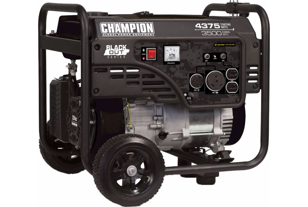 Cabelas - Champion Blackout Generator - 4,735 W peak / 3,500 W - $280 + tax - Free Shipping