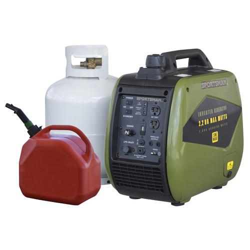 Walmart - Sportsman 2200/1800 Watt Dual Fuel Inverter Generator - $499 + tax - Free Shipping