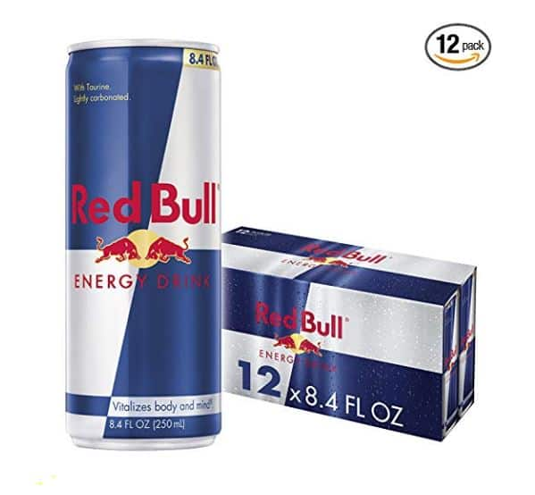 Red Bull 8.4 fl. oz. cans, 12-pack, $14.98 and more (Prime only)