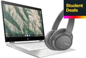 BestBuy: Buy a Chromebook $299+, get a pair of Sony WH-CH700N ANC Headphones FREE (Student Deal)
