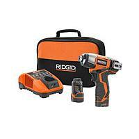 Home Depot Deal: Ridgid 12V Impact Driver with 2 lithium ion batteries, charger and case for $49 @ Home Depot BM YMMV