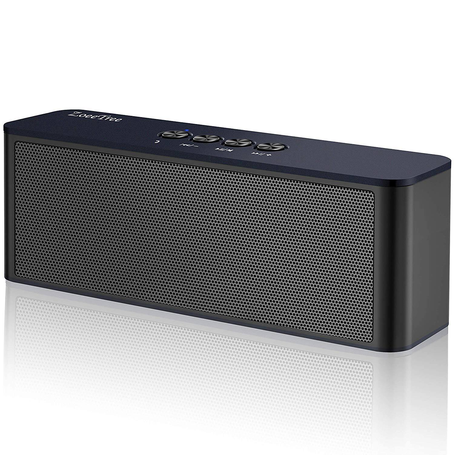 Bluetooth Speakers Portable Durable Wireless Speakers 20W, Bluetooth 4.2 Built-in Mic, TF Card Slot $10.38