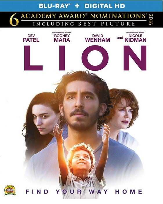 Lion Blu-ray (Blu-Ray and Digital HD) Amazon.com $17.96 pre-order release date 4/11/17