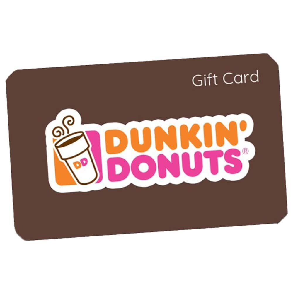 Dunkin Donuts $10 gift card for 6 Large Hot Coffees/Teas or 4 Medium Lattes in Metro NY, North & Central NJ, and CT at BM stores
