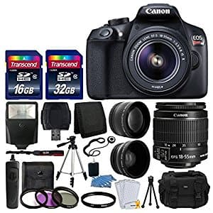 Canon EOS Rebel T6 Digital SLR Camera $469 with lenses and great accesories!