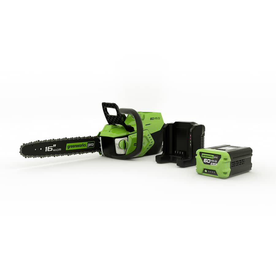 Lowe's Greenworks Pro 60-volt Max Lithium Ion 16-in Brushless Cordless Electric Chainsaw (Battery Included) $99 YMMV