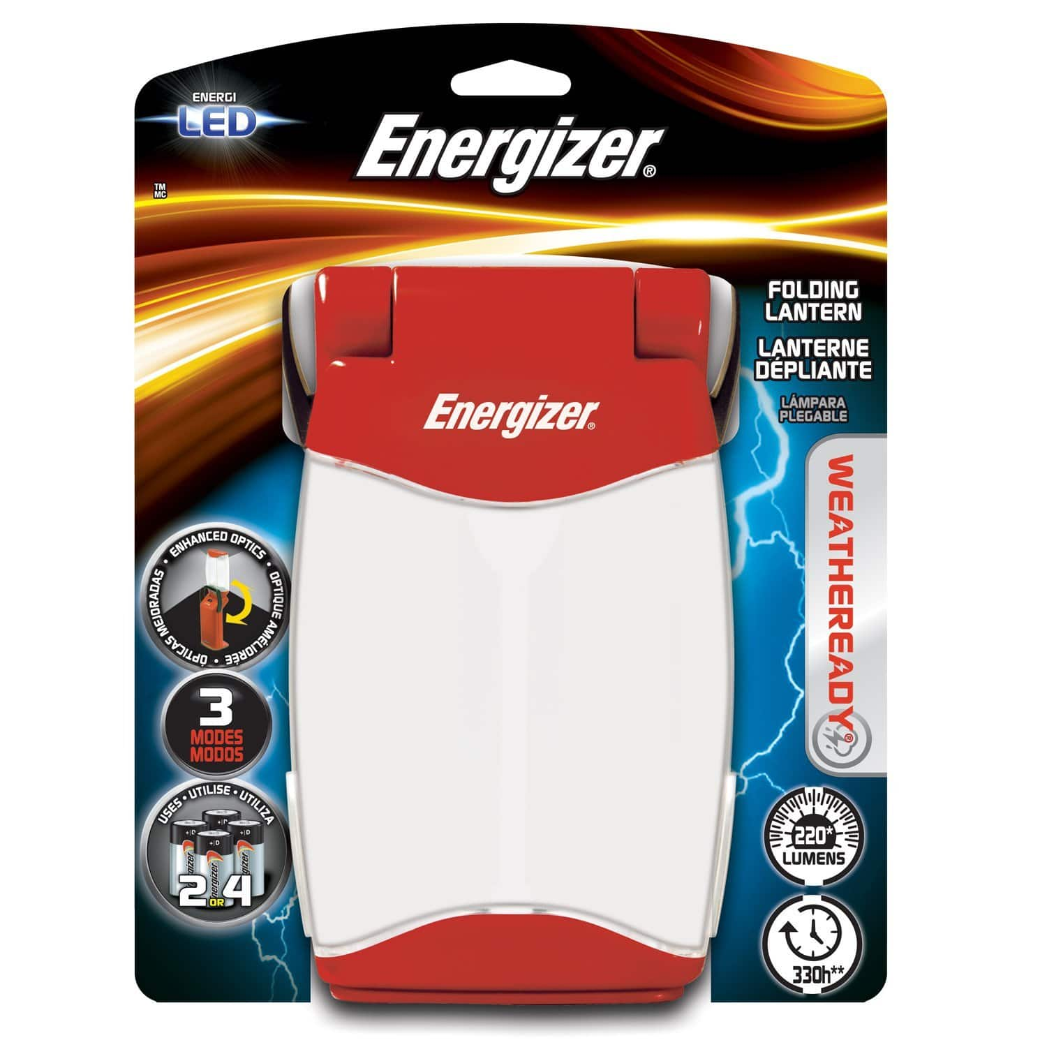 Energizer Weatheready Folding Lantern- $14.99