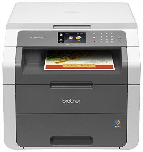 Brother HL-3180CDW Color Wireless Laser Printer, Flatbed Scanner w/ Duplex Printing - $202.65 for Amazon Prime members