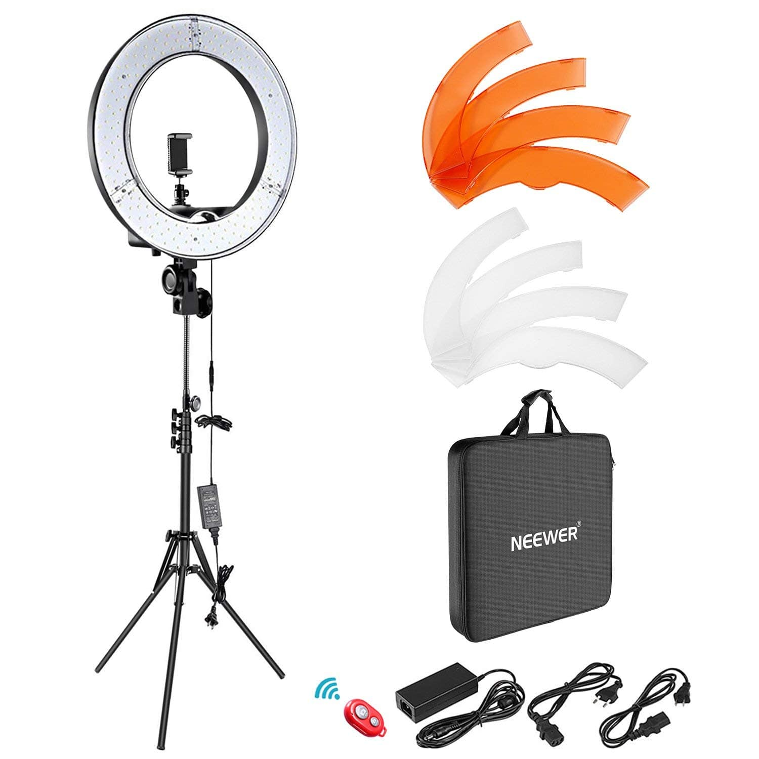 Camera Photo Video Lighting Kit 55W 5500K Dimmable LED Ring Light for $79.99 @Amazon