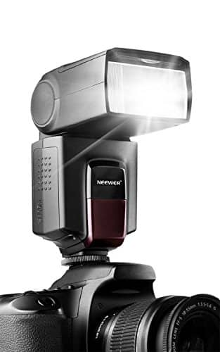 Neewer TT560 Flash Speedlite for Canon Nikon Panasonic Olympus Pentax and Other DSLR Cameras with Standard Hot Shoe for $23