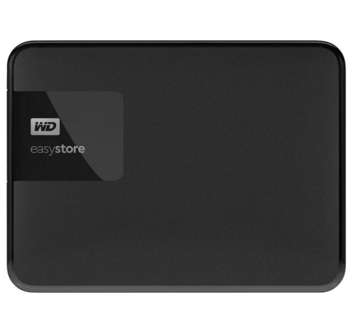 WD - Easystore 5TB External USB 3.0 Portable Hard Drive - Black $90