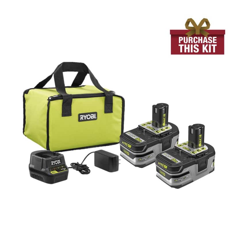 Ryobi free tool with purchase- price reduced $129