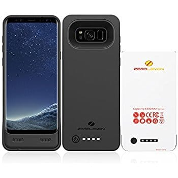 Amazon has Battery Case for Galaxy S8 5500mAh and  8500mAh  Soft TPU Full Edge Protect up to 37% off $18.89 and $39.59 w/ coupon @Amazon  w/ Free Prime S/H