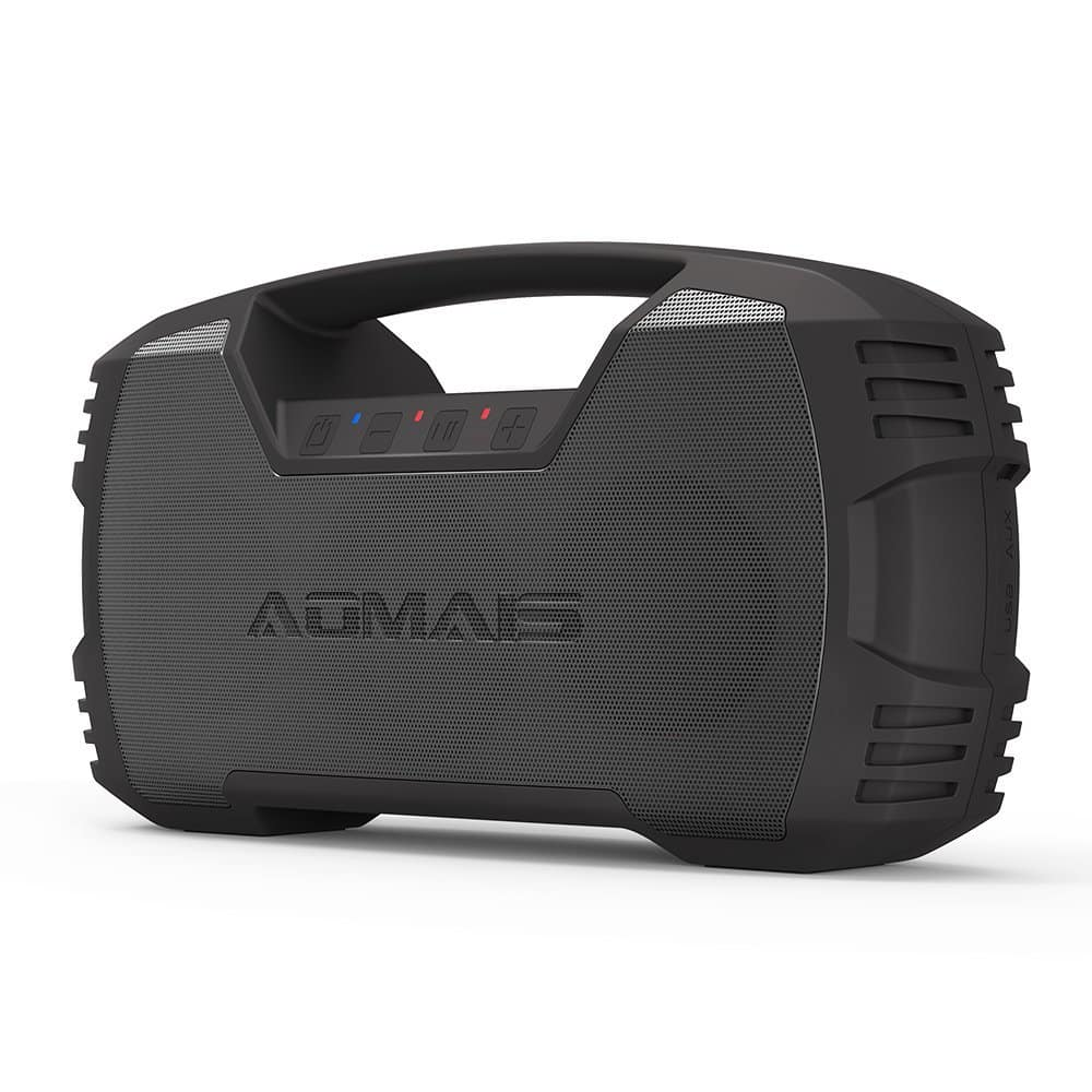 Better than Amazon Lightening Deal: AOMAIS 30W IPX7-Waterproof Portable Bluetooth Speaker 30-Hour Playback, Built-in 7200mAh Rechargeable Battery for $41.99