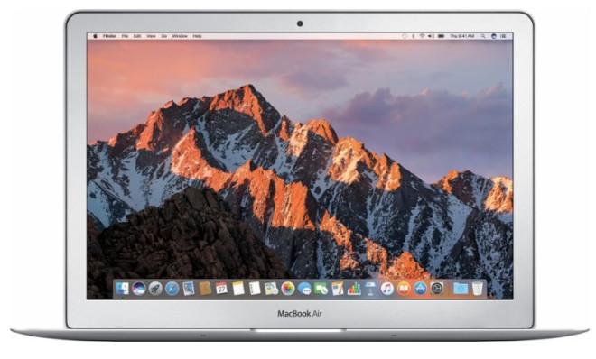 "Apple  MacBook Air, 13.3"" Display, Intel Core i5, 8GB Memory, 128GB Flash Storage, Silver $749.99 + FS"