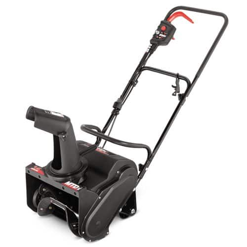 amazon.com MTD 31A-050-706 14-Inch 11-Amp Electric Single Stage Snow Thrower $53 includes shipping [DEAD] now $64.99  + $19.49 shipping .