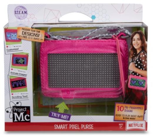 Select Walmart Stores: Project Mc2 Pixel Purse $15 YMMV